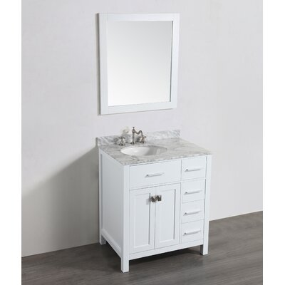 30 Single Bathroom Vanity Set with Mirror