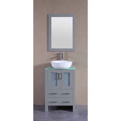 23.6 Single Vanity Set with Mirror