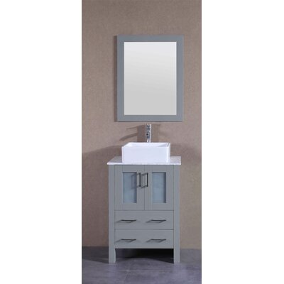 23.6 Single Vanity Set with Mirror