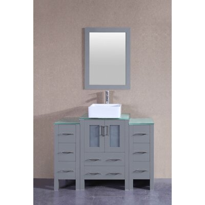 48.1 Single Vanity Set with Mirror