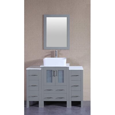 48.1 Single Vanity Set with Mirror