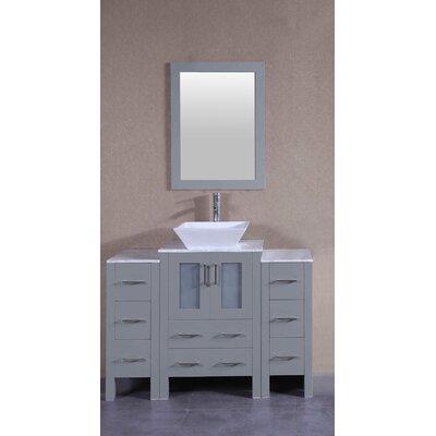 48.1 Single Bathroom Vanity Set with Mirror