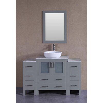 54 Single Bathroom Vanity Set with Mirror
