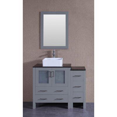 41.8 Single Bathroom Vanity Set with Mirror