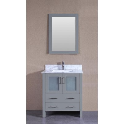 29.6 Single Bathroom Vanity with Mirror