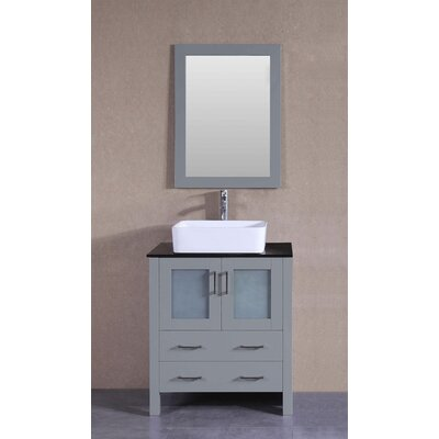 29.6 Single Bathroom Vanity with Mirror