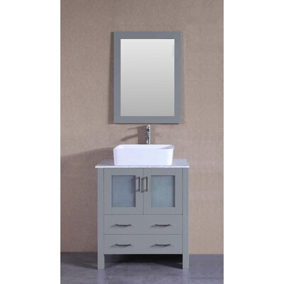 26.6 Single Bathroom Vanity with Mirror