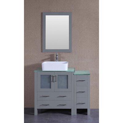 41.8 Single Vanity Set with Mirror