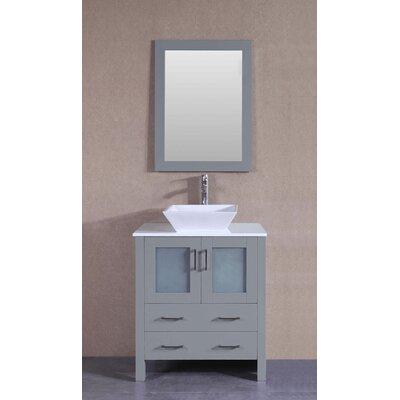 29.6 Single Vanity Set with Mirror