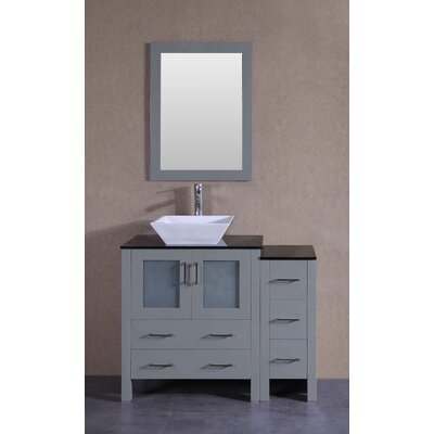 41.8 Single Vanity Set with Mirror