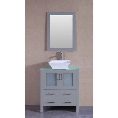 29.6 Single Vanity Set with Mirror