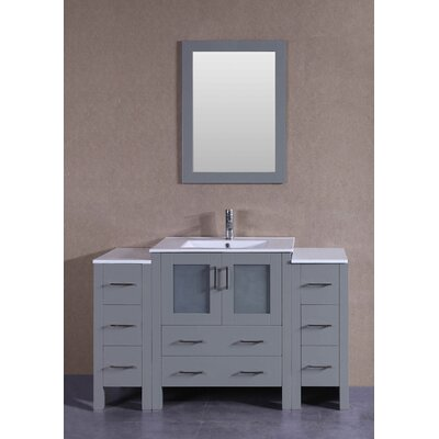 54.2 Single Vanity Set with Mirror