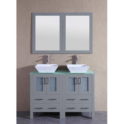 47.3 Double Vanity Set with Mirror