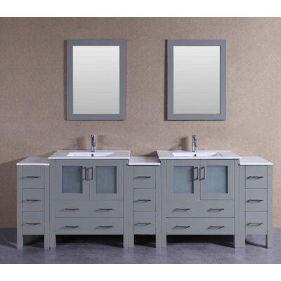 96.1 Double Vanity Set with Mirror