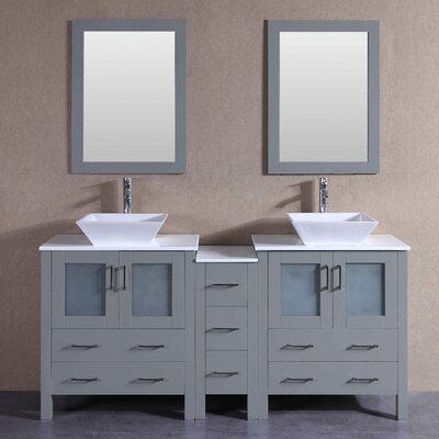 71.3 Double Vanity Set with Mirror