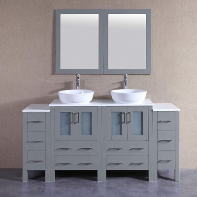 71.7 Double Vanity Set with Mirror