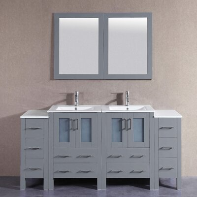 73.3 Double Vanity Set with Mirror