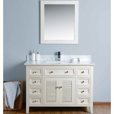 "48"" Single Bathroom Vanity Set with Mirror KIV3048CMU"