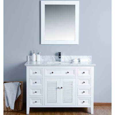 "48"" Single Bathroom Vanity Set with Mirror KWH3048CMU"