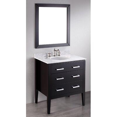 Hopewell 31 Single Bathroom Vanity Set with Mirror