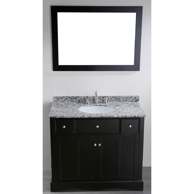 Rutland 39 Single Bathroom Vanity Set with Mirror