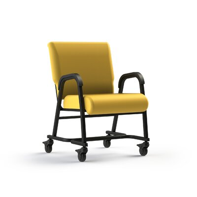 Bariatic Upholstered Dining Chair Color: Lemon