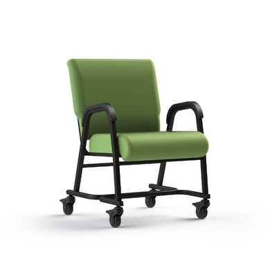 Bariatic Upholstered Dining Chair Color: Apple - Green