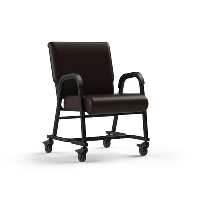 Bariatic Upholstered Dining Chair Color: Root Beer