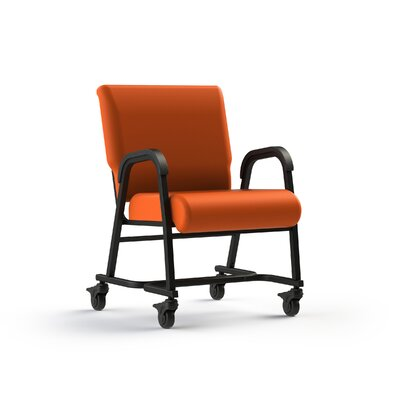 Bariatic Upholstered Dining Chair Color: Tangerine