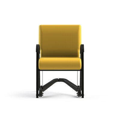 Mobility Assist Upholstered Dining Chair Upholstery Color: Lemon