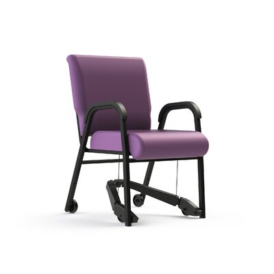 Mobility Assist 22 inch Metal Arm Chair Color: Grape