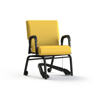 Mobility Assist Upholstered Dining Chair Color: Lemon