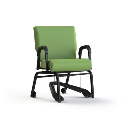 Mobility Assist Upholstered Dining Chair Color: Apple - Green