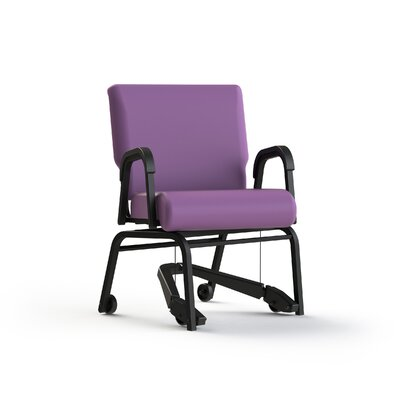 Mobility Assist  Arm Chair Color: Grape