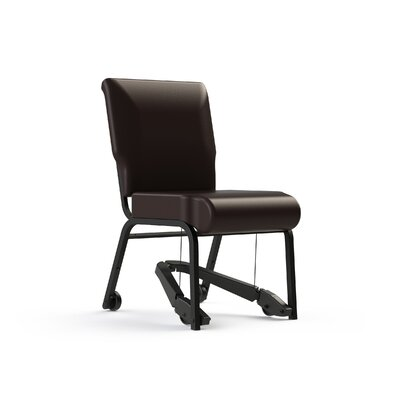 Mobility Assist 20 Metal Side Chair Color: Root Beer