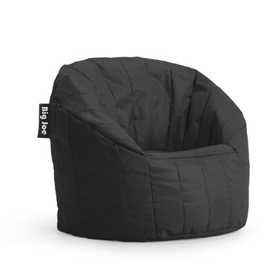 Big Joe Bean Bag Chair Upholstery: Black
