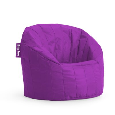 Big Joe Bean Bag Chair Upholstery: Fuchsia