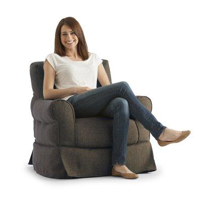 Big Joe Bean Bag Chair Upholstery: Espresso