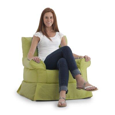 Big Joe Bean Bag Chair Upholstery: Surf Verde