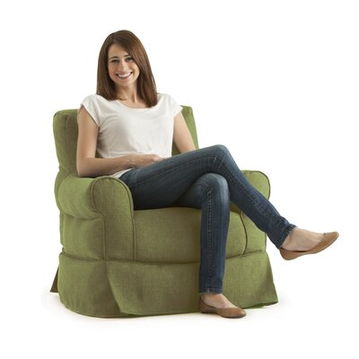 Big Joe Bean Bag Chair Upholstery: Grass
