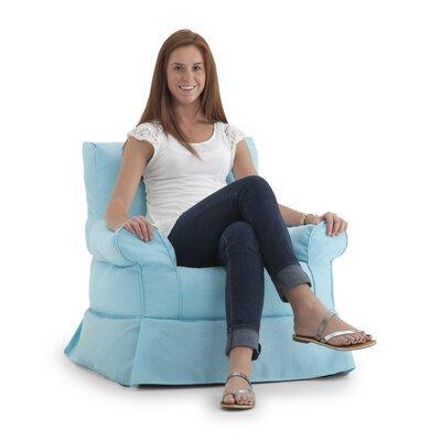 Big Joe Bean Bag Chair Upholstery: Surf Capri