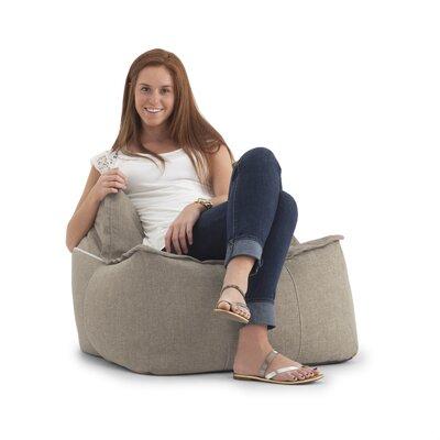 Big Joe Zip It Chair Upholstery: Khaki