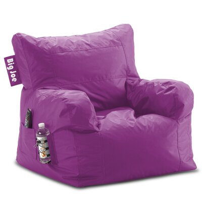Big Joe Personalized Bean Bag Lounger Upholstery Color: Radiant Orchid