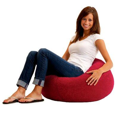 Big Joe Cuddle Childrens Bean Bag Lounger Upholstery: Sierra Red