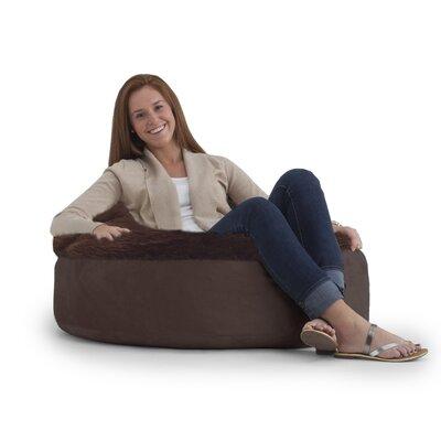 Big Joe Bean Bag Chair Upholstery: Chocolate/Brown