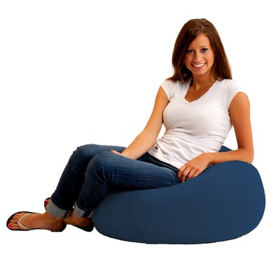 Big Joe Cuddle Childrens Bean Bag Lounger Upholstery: Blue Sky