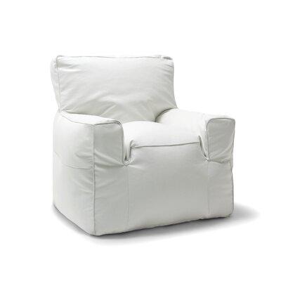 Big Joe Suite Bean Bag Lounger Upholstery: White