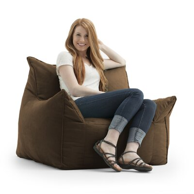 Big Joe Imperial Bean Bag Lounger Upholstery: Chocolate