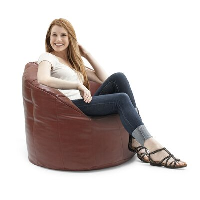 Big Joe Milano Bean Bag Lounger Upholstery: Crimson