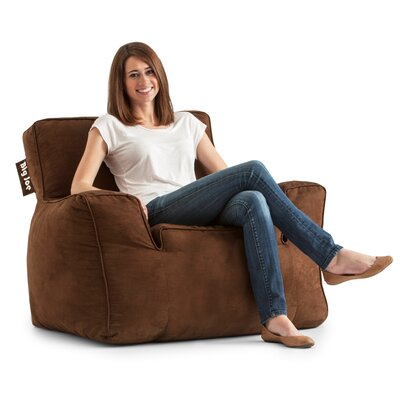 Big Joe Suite Bean Bag Lounger Upholstery: Chocolate